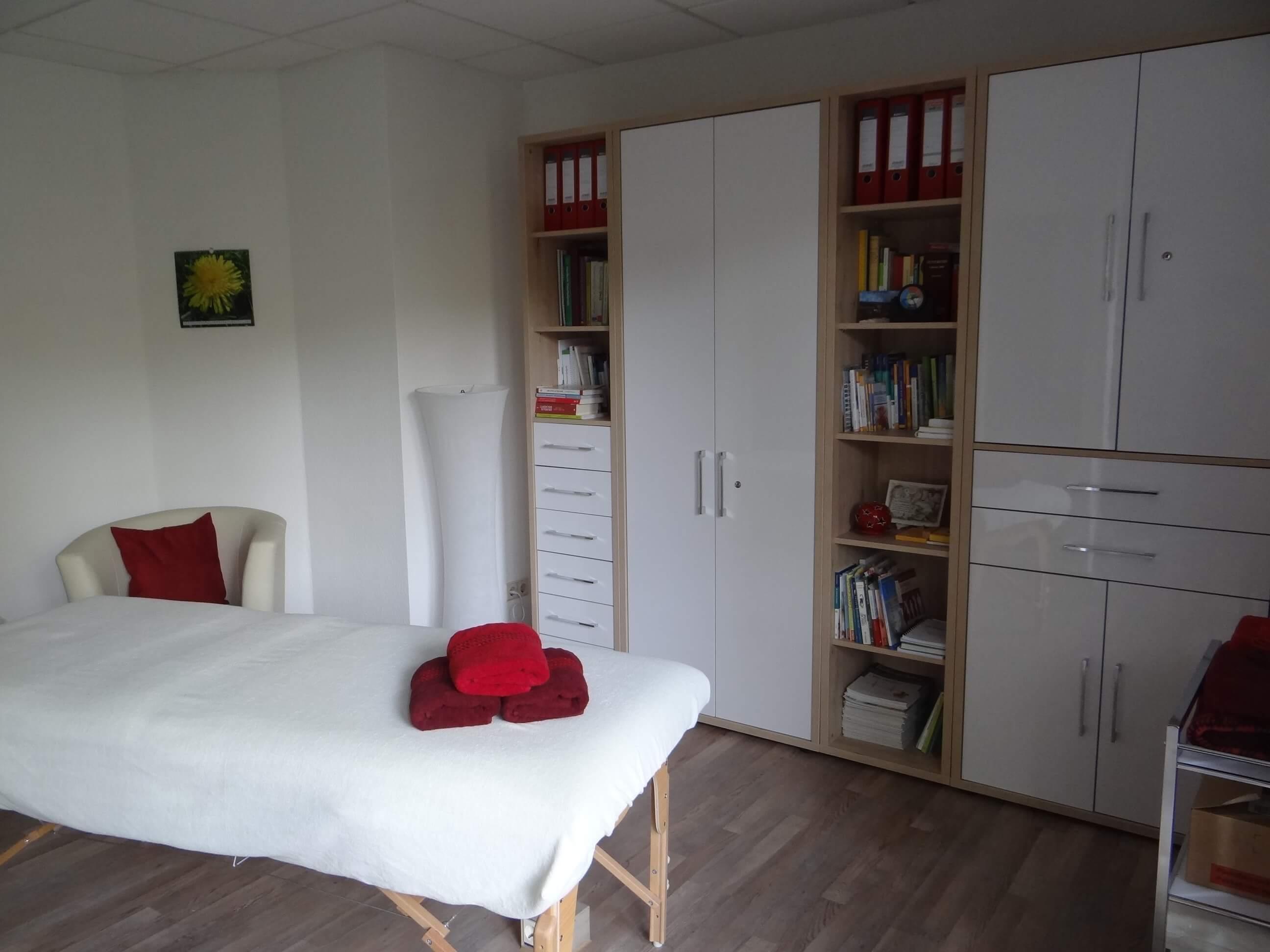 Naturheilpraxis Schön Behandlungsraum